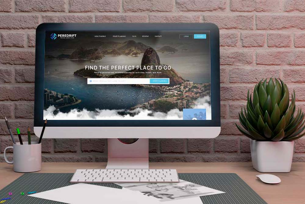 Web Design for Travel Site