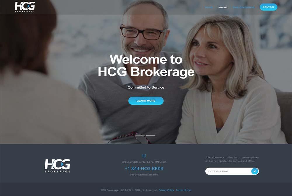 HCG Brokerage Website