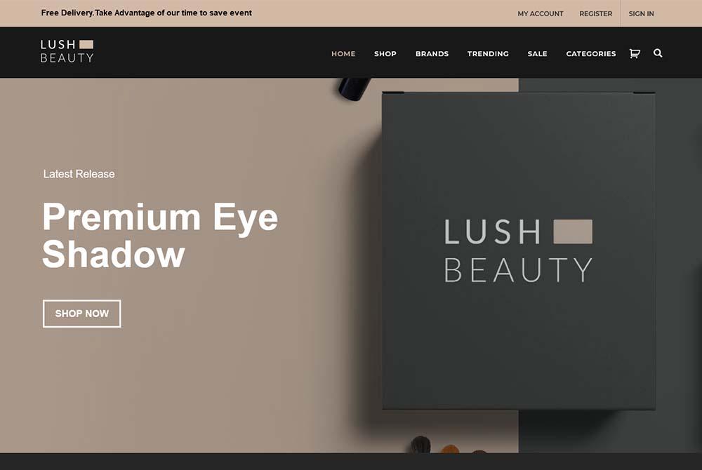 Lush Beauty Store