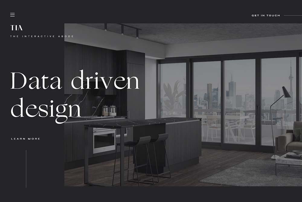 Interactive Abode Website